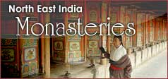 North East India Monasteries