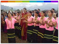 Siang River fair and festival of Mizoram