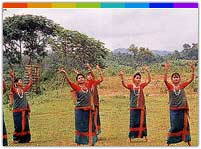 Chakma Music and Dance Tripura